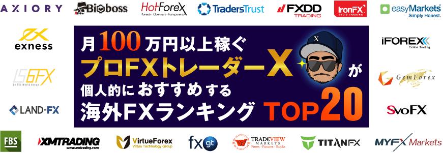 海外FXで稼げるおすすめ業者ランキング全20社【2021年5月最新版】